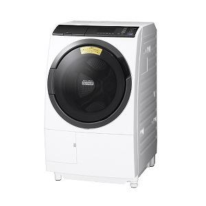 日立 ドラム式洗濯乾燥機 BD-SG100EL-W ホワイト(標準設置無料)