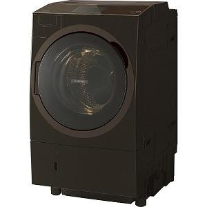 東芝 TOSHIBA ドラム式洗濯乾燥機 洗濯12kg/乾燥7kg TW127X8R(T) グレインブラウン(標準設置無料)