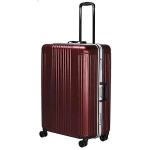 スーツケースハードフレーム [90L] SIF106566ヘアライン レッド