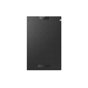 バッファロー 外付けSSD SSD-PGC1.9U3-BA ブラック