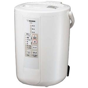 象印 ZOJIRUSHI 加湿器[スチーム式・木造和室8畳まで/プレハブ洋室13畳まで] EE-RP50-WA ホワイト