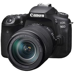 キヤノン CANON 一眼レフデジタルカメラ EOS90D18135ISUSMLK