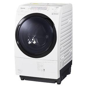 パナソニック Panasonic ドラム式洗濯機 [洗濯10.0kg/乾燥6.0kg/左開き] NA-VX300AL-W クリスタルホワイト(標準設置無料)