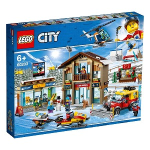LEGO レゴ 60203 シティ スキーリゾート 60203スキーリゾート