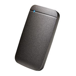 エレコム ELECOM ESD-EF1000GBK 外付ケSSD ポータブル USB3.2(Gen1)対応 TLC搭載 Type-C&Type-Aケーブル付属 1TB ブラック ESDEF1000GBK