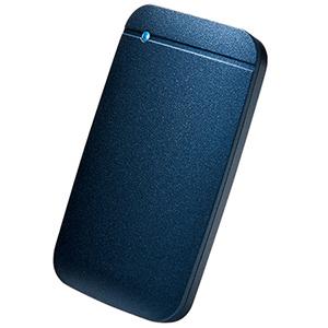 エレコム ELECOM ESD-EF1000GNV 外付ケSSD ポータブル USB3.2(Gen1)対応 TLC搭載 Type-C&Type-Aケーブル付属 1TB ネイビー ESDEF1000GNV