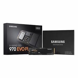 サムスン 内蔵SSD 970 EVO Plus [M.2/500GB] MZ-V7S500B/IT