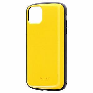 完全送料無料 合計3 980円以上で送料無料 爆買い送料無料 更に代引き手数料も無料 MSソリューションズ iPhone 11 Pro 耐衝撃ケース PALLET イエロー 6.5インチ LP-IL19PLAYE Max AIR