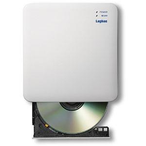 エレコム ELECOM WiFi対応CD録音ドライブ 2.4GHz iOS_Android対応 USB3.0 ホワイト LDR-PS24GWU3RWH