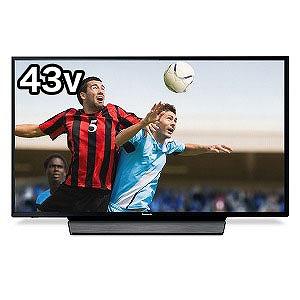 パナソニック Panasonic 43V型4K対応液晶テレビ(4Kチューナー内蔵)「VIERAビエラ」 TH-43GX855(標準設置無料)