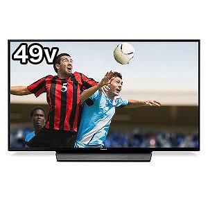 パナソニック Panasonic 49V型4K対応液晶テレビ(4Kチューナー内蔵)「VIERAビエラ」 TH-49GX855(標準設置無料)