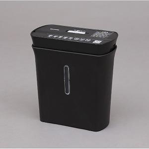 アイリスオーヤマ IRIS パーソナルシュレッダー KP8GC-B ブラック