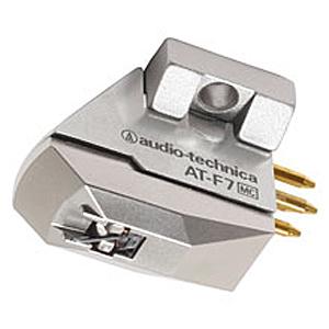 オーディオテクニカ MC型(デュアルムービングコイル)ステレオカートリッジ AT‐F7(送料無料)