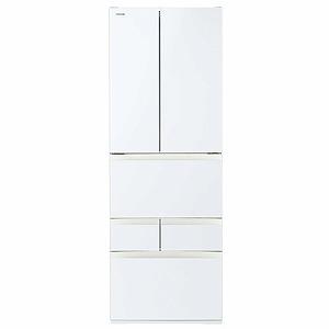 東芝 TOSHIBA 6ドア冷蔵庫 GR-R460FK(EW) グランホワイト(標準設置無料)