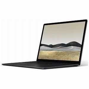 マイクロソフト Microsoft ノートパソコン Surface Laptop 3(サーフェス ラップトップ3) [15.0型 /SSD:256GB /メモリ:8GB /2019年10月モデル] VGZ-00039 ブラック