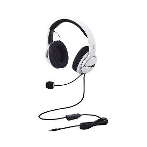 エレコム ELECOM ゲーミングヘッドセット/オーバーヘッド/ホワイト HS-ARMA100WH