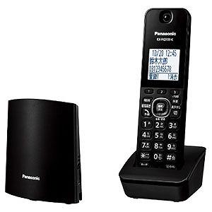 パナソニック Panasonic [子機1台]コードレス電話機 VE-GZL40DL-B ブラック