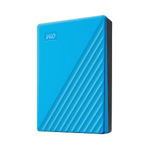 ウエスタンデジタル USB 3.1 Gen 1(USB 3.0)/2.0対応 ポータブルHDD WD My Passport 4TB WDBPKJ0040BBL-JESN ブルー