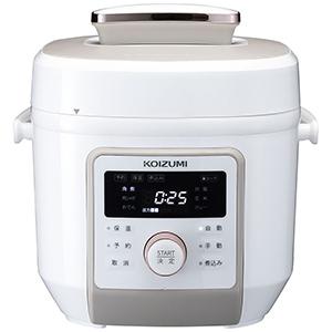 コイズミ KOIZUMI マイコン電気圧力鍋 KSC4501W