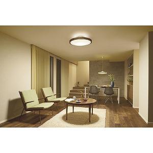 LED間接光シーリングライト DXL-81382 ウォールナット色[12畳/昼光色~電球色/リモコン付き]