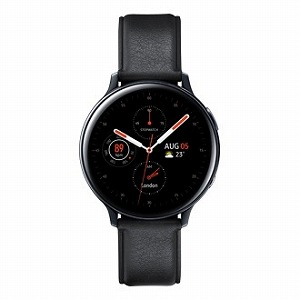 サムスン サムスン ウェアラブル端末 Galaxy Watch Active2 44mm ブラック(ステンレス) SM-R820NSKAXJP