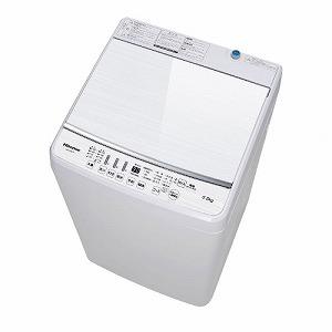 ハイセンス 全自動洗濯機 [洗濯5.5kg /乾燥機能無 /上開き] HW-G55B-W ホワイト(標準設置無料)