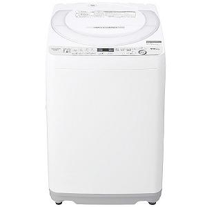 シャープ SHARP 全自動洗濯機 [洗濯7.0kg] ES-GE7D-W ホワイト系(標準設置無料)