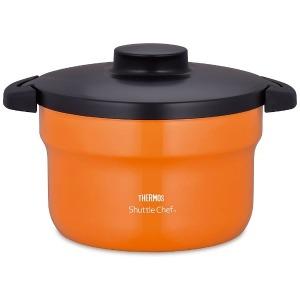 サーモス 真空保温調理器 KBJ-3000 オレンジ