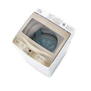 アクア AQUA 全自動洗濯機7kg AQW-GS70HBK(FG) フロストゴールド(標準設置無料)