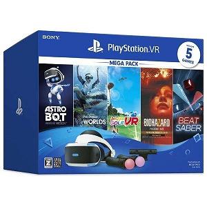 ソニー・コンピュータエンタテインメント PlayStation VR MEGA PACK CUHJ-16010