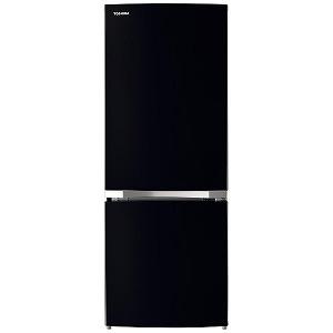 東芝 TOSHIBA 2ドア冷蔵庫(153L・右開き) GR-R15BS-K セミマットブラック(標準設置無料)