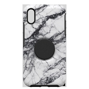 OTTERBOX OTTER+POP SYMMETRY iPhone XR WHITE MARBLE 77-61727