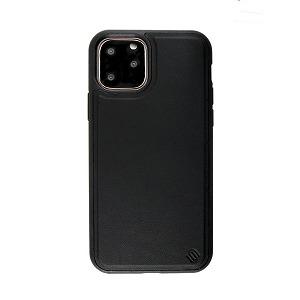 AEGIS iPhone 11 6.1インチ ECO LEATHER/ECO BACK SHELL CASE/Black UUIPEFHS08