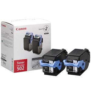 Canon トナーカートリッジ 2本パック CRG-502BLK2P (ブラック)(送料無料)