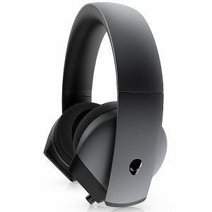 DELL デル ゲーミングヘッドセット ALIENWARE 7.1 [φ3.5mmミニプラグ/両耳/ヘッドバンドタイプ] AW510H-Dダークサイドオブザムーン