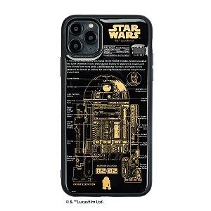 電子技販 FLASH R2-D2 基板アートiPhone 11Pro Maxケース 黒 IP11PM-250B