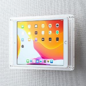 サンワサプライ iPad 10.2インチ用 アクリルケース クリア CR-LAIPAD14