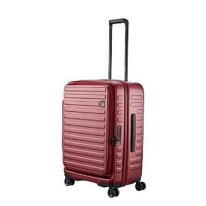 LOJEL ロジェール スーツケース CUBO(キューボ)-N Mサイズ バーガンディ CUBO-N-MBG