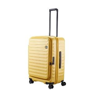 LOJEL ロジェール スーツケース CUBO(キューボ)-N Mサイズ マスタード CUBO-N-MMS