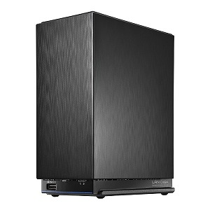 I・O・DATA デュアルコアCPU搭載 ネットワーク接続ハードディスク(NAS) 2ドライブモデル 12TB HDL2-AAX12