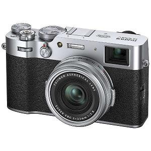 富士フイルム FUJIFILM デジタルカメラ FX100V-Sシルバー
