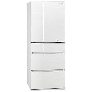 パナソニック Panasonic 6ドア冷蔵庫(470L・フレンチドアタイプ) NR-F476XPV-W マチュアホワイト(標準設置無料)