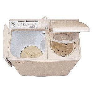 日立 二槽式洗濯機(4.5kg)自動二槽式~青空~ PA‐T45K5‐CP (パインベージュ)(標準設置無料)