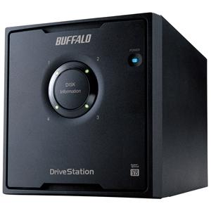 バッファロー ドライブステーション 外付けHDD 4ドライブモデル 「4TB」 HD‐QL4TU3/R5J(送料無料)