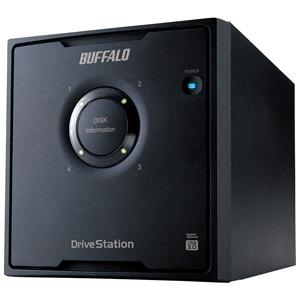 バッファロー ドライブステーション 外付けHDD 4ドライブモデル 「8TB」 HD‐QL8TU3/R5J