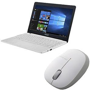 新生活 モバイルノートPC 2点セット(ホワイト)
