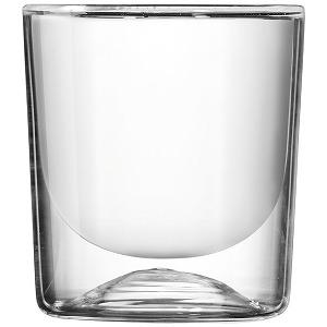 【安心発送】 グッチーニ L ダブルウォールグラス4P GOCCE クリアー 22300100, Glassesマート 853f210a