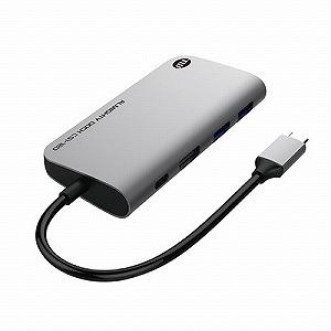 TUNEWEAR Almighty Dock CS1 120GB - スペースグレイ USB-Cハブ SSD120GB内蔵 TUN-OT-000059