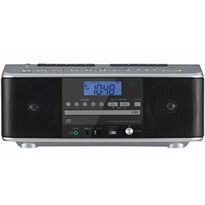 東芝 TOSHIBA CDラジカセ[ワイドFM対応/CDラジカセ]TY-CDW990-S シルバー