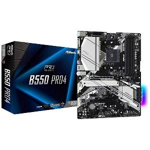 ASROCK マザーボード お得セット B550 Pro4 ATX 誕生日/お祝い B550Pro4 AM4